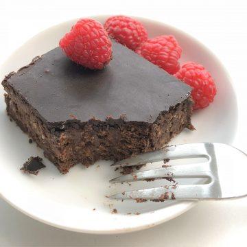 Köstliche Brownies, ohne Backen (roh, vegan und paleo)