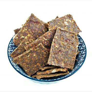 Leinsamen Cracker-roh-low carb-paleo-einfach-schnell-vegan