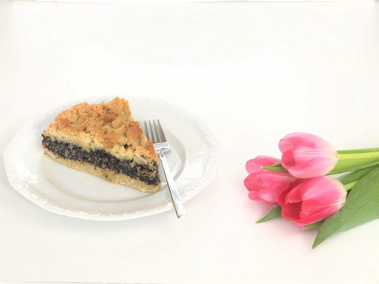 Mohnkuchen mit Streuseln - getreidefreie, glutenfreie und zuckerarme Paleo-Version