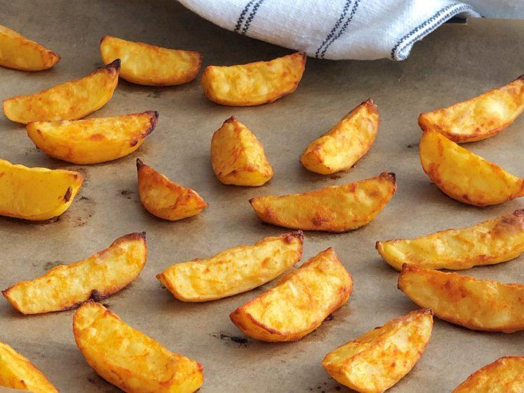 Knusprige Ofenkartoffeln kleingenuss.de foodblog