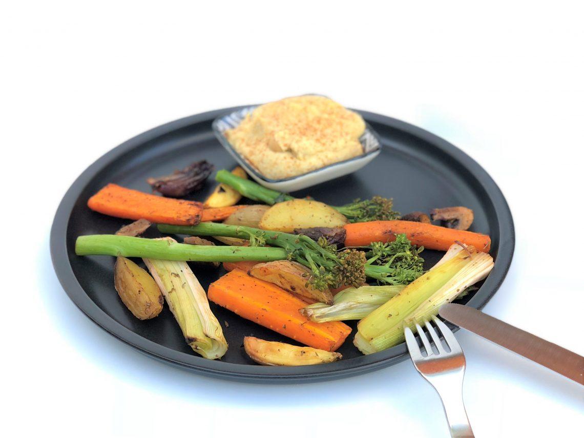 Ofengemüse mit Hummus-vegan-vegetarisch-foodblog-kleingenuss.de-rezept