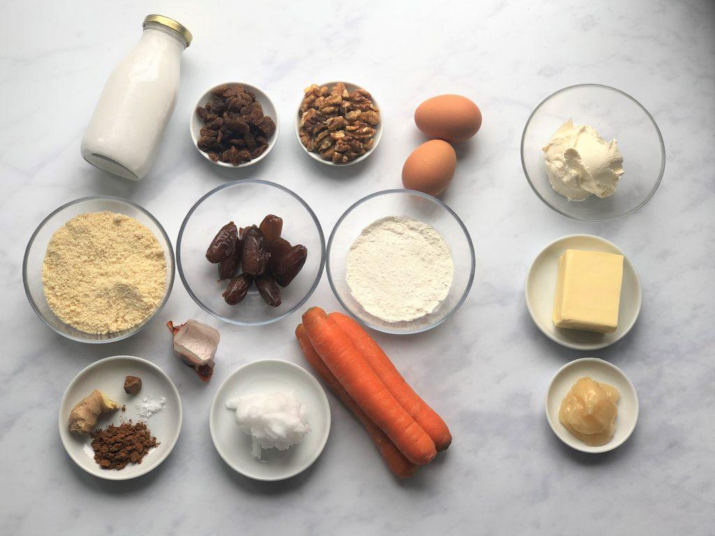 Karottenkuchen-Carrot-Cake-Rezept-Paleo-clean-eating-gesund-ohne Mehl-ohne Zucker-köstlich-einfach